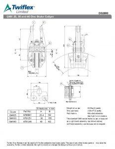 Jual Twiflex Disc Brake Caliper GMX Series
